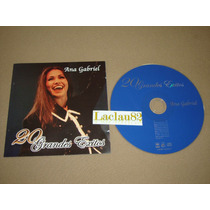 Ana Gabriel 20 Grandes Exitos 2001 Sony Music Cd