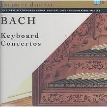 Bach: Keyboard Concertos. Cd Seminuevo 1994 Made In Usa