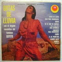 Goyito Organo Romantico / Gotas De Lluvia 1 Disco Lp Vinilo
