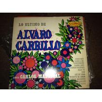 Disco Acetato: Alvaro Carrillo