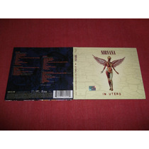Nirvana - In Utero Cd Doble Nac Ed 2013 Mdisk