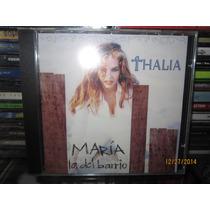 Thalia Maria La Del Barrio Cd Single Nuevo Sin Abrir