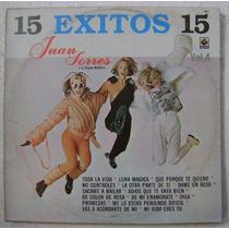 Juan Torres / 15 Exitos 1 Disco Lp Vinilo