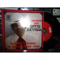 David Reynoso / Canta Boleros De Siempre Disco Ep