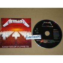 Metallica Master Of Puppets 1989 Vertigo Cd Mexico