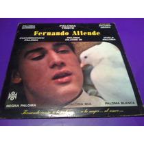 Disco Lp Fernando Allende Canta A La Paloma
