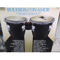 Santo Morales Y Orquesta Boleros Lote De Discos Lp