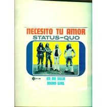 Lp- Status - Quo - Necesito Tu Amor