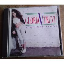 Gloria Trevi Si Me Llevas Contigo Cd 1a Ed 1995 C/cancionero