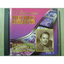 Pedro Infante Cd Las + Grandes Canciones De Sus Peli Vol. 2