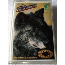 Los Temerarios Tu Ultima Cancion Cassette Raro Disa 1993 Bvf