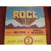 Lp Los Grandes Del Rock Album 3 Discos, Envio Gratis