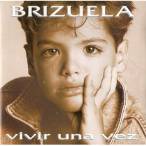 Cd De Laureano Brizuela: Vivir Una Vez 1993