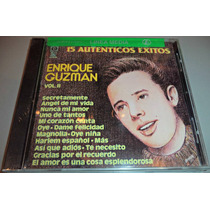 Cd Enrique Guzman 15 Autenticos Exitos Vol 2 Nuevo Y Sellado