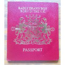 Badly Drawn Boy Born In The Uk Cd Ltd Edition Pasaporte