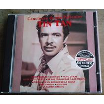 Tin Tan Canciones De Sus Peliculas Cd Raro Orfeon 1a Ed 1997