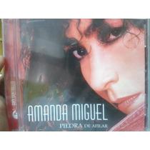 Cd Amanda Miguel Piedra De Afilar 100% Sellado Y Nuevo