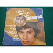 Sandro Disco De Oro Cuidadisimo Con Su Celofan Original
