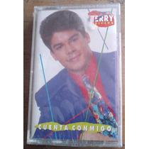 Jerry Rivera Cuenta Conmigo Cassette Nuevo,sellado De Fabric