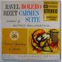 Ravel Bolero / Bizet Carmen Suite 1 Lp Vinil