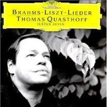 Thomas Quasthoff Brahms Liszt Cd Baritono Opera Op4