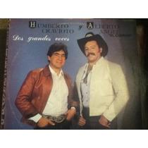Disco Acetato De: Humberto Cravioto Y Alberto Angel