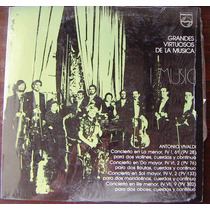 Clasica, Antonio Vivaldi, Grandes Virtuosos, Lp12´,
