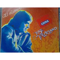 Disco Acetato De El Latino Romantico Jose Feliciano 15 Exito