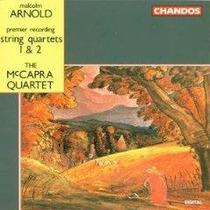 Malcolm Arnold Cuartetos Mcapra Quartet Cd Lqe Envio Gratis