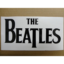Sticker Vinil Calcomania The Beatles Logo (21 X 11 Cm)