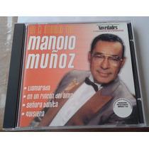 Manolo Muñoz En La Intimidad Cd Unica Ed 2001 Bvf