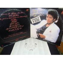 Michael Jackson - L.p. 12 , Thriller. De Coleccion