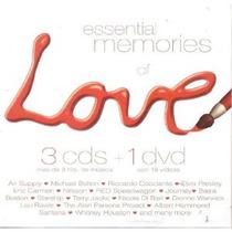 3cds+1dvd Essential Memories Of Love Envio,lector Usb Gratis