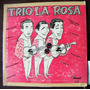Afroantillana.trio La Rosa Lp 10´, Hecho En Cuba .dvn