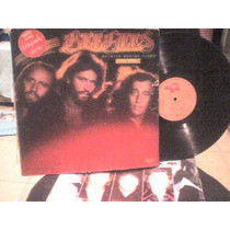 Disco Lp De Vinil O Acetato Bee Gees, Spirits Having Flow