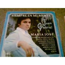 Disco Acetato De: Juan Gabriel Siempre En Mi Mente