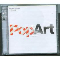 Cd 2 De Pet Shop Boys Hits Nuevo Envio Gratis