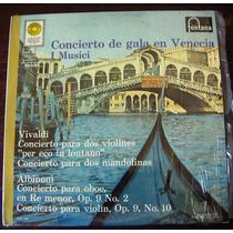 Clasica, Antonio Vivaldi Concierto De Gala En Venecia, Lp12´