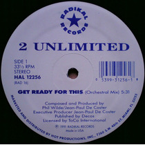2 Unlimited Get Ready For This (polymarchs) Techno 90