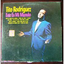 Afroantillana, Tito Rodriguez, Este Es Mi Mundo Lp 12´ Dvn
