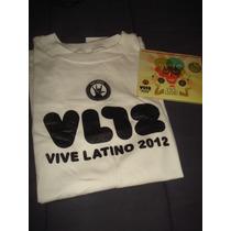 Vive Latino Playera Oficial & Cd Cfe Tacuba