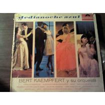 Disco Acetato De Medianoche Azul Bert Kaempfert Y Su Orquest