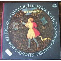 Clasica, Antonio Vivaldi, Virtuosi Di Roma, Renato Fasano Lp