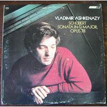 Clasica, Vladimir Ashkenazy, Schubert Sonata In G Major Lp12