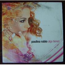 Cd Sencillo,pop Internacional, Paulina Rubio, Algo Tienes,