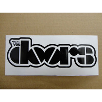 Sticker Vinil Calcomania The Doors Logo (21 X 7 Cm)