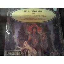 Disco Acetato De W.a Mozart Enciclopedia De Los Grandes Comp