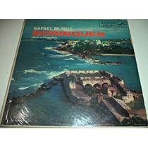 Lp Rafael Muñoz Y Su Orquesta Music Of Puerto Rico Importado
