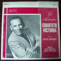 Afroantillana. El Auntentico Cuarteto Victoria. Lp 12´.