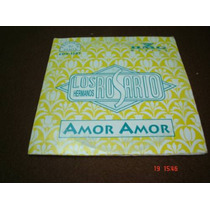 Los Hermanos Rosario - Cd Single - Amor Amor Bfn